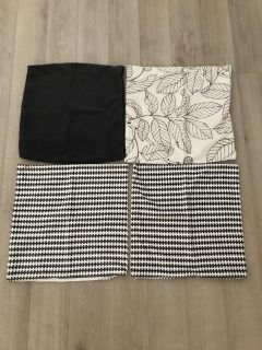 Ikea cushion covers, throw pillow covers- NEW