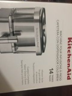 new in box kitchenaid cold brew or ice tea maker