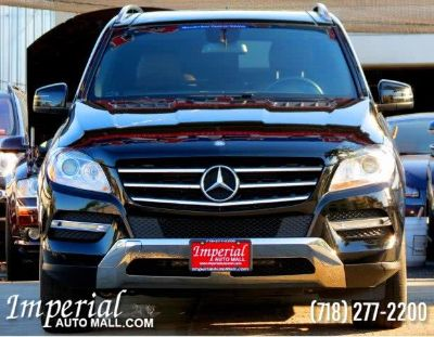2012 Mercedes-Benz M-Class ML350 4MATIC (Black)