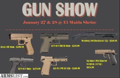 For Sale: Gun Show Exclusives!