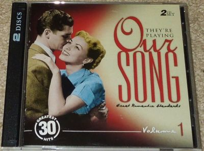 "Collectors--""They're Playing Our Song"" Great Romantic Standards Vol 1-- 2 CDs"