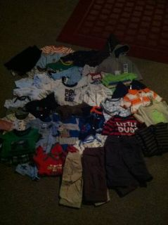 LOT OF 3-6 MONTH BOY CLOTHES