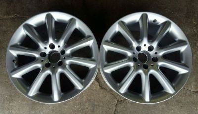 Buy (2)Mercedes Benz SL600 9.5x18 Factory OEM Rear Wheels motorcycle in Dallas, Texas, United States, for US $450.00