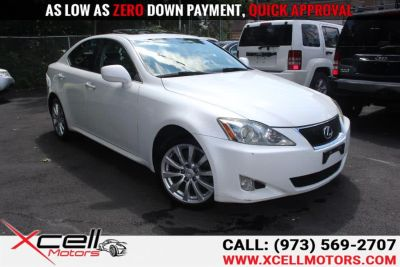 2008 Lexus IS 250 Base (White)