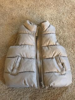 Old Navy puffer vest 12-18 mo