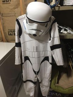 Storm troopers costume size small