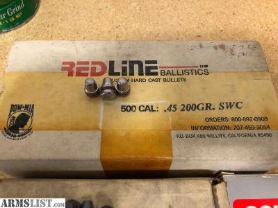 For Sale: 45 ACP 200 gr bullets