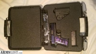For Sale/Trade: Sig P238 Purple.