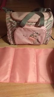 Diaper bag an changing pad