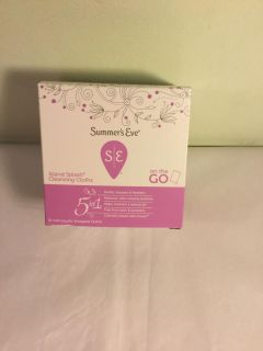 Summers eve island splash cleansing cloths