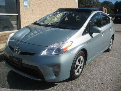 2012 Toyota Prius 5dr HB Four (Natl)
