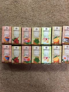 Brand New boxes of tea bags