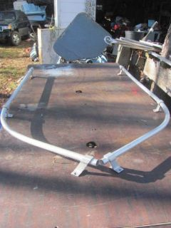 "Purchase Boat Bow RAILING 59"" LONG 3 1/4 High 36"" To Bend then 23"" More motorcycle in Young Harris, Georgia, United States, for US $149.00"