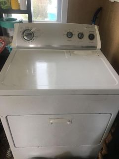 Whirlpool washer and dryer (electric)
