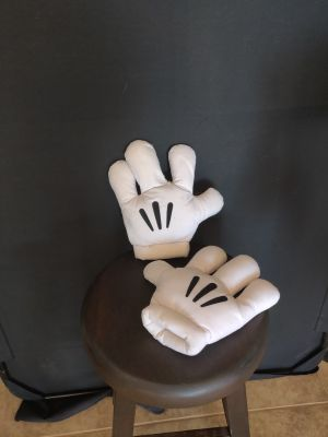 Mickey Mouse Costume Hands