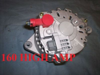 Purchase NEW ALTERNATOR FORD MUSTANG COBRA 2003-2004 4.6L 160 HIGH amp 8-Groove Pulley motorcycle in Porter Ranch, California, United States, for US $164.55