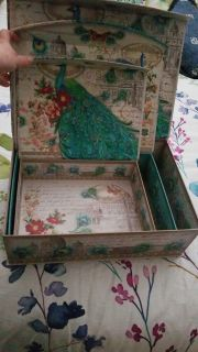 Peacock boxes