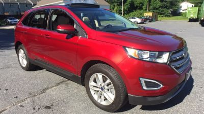 2015 Ford Edge SEL (red)