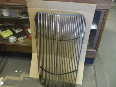 Purchase 1937 Chevy truck grille NEW NEWLY [triple] PLATED L@@@@@@@@@@@K motorcycle in Springfield, Ohio, United States, for US $850.00