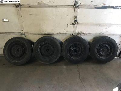 Late model type2 Bay/Vanagon wheels