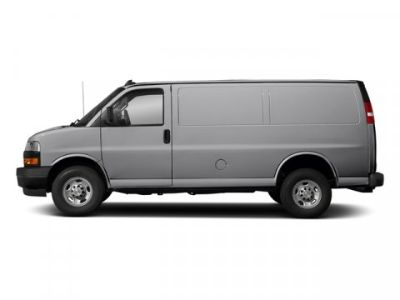 2018 Chevrolet Express Cargo Van (Silver Ice Metallic)