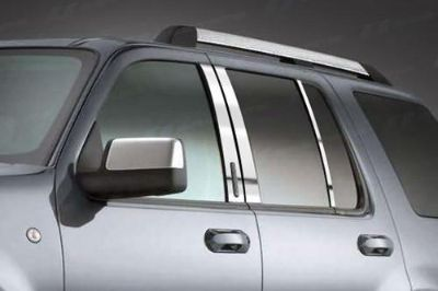 Purchase SES Trims TI-P-101 02-10 Ford Explorer Door Pillar Posts Window Covers Trim motorcycle in Bowie, Maryland, US, for US $70.20