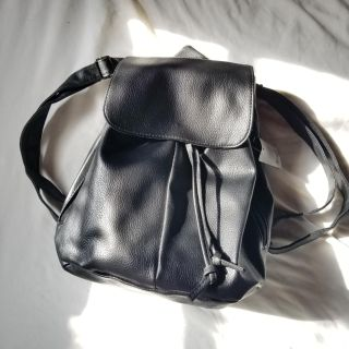 Leather Backpack Purse NWT