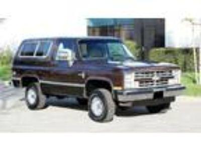 1985 Chevrolet Blazer K5 Blazer Automatic Transmision Convertible