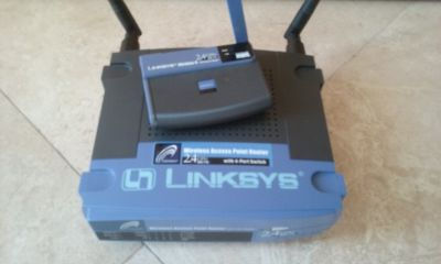 Linksys Router with USB Adapter