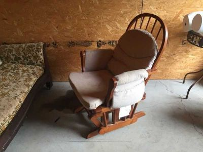 Winsor Glider with Ottoman