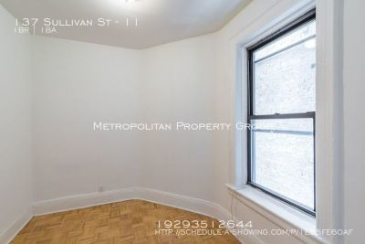 No Fee~Spacious 1 Bedroom with Hardwood floors, Renovated Kitchen, Marble bath Located in the HEART OF SOHO!!