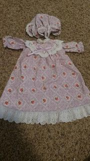 American girl doll night gown