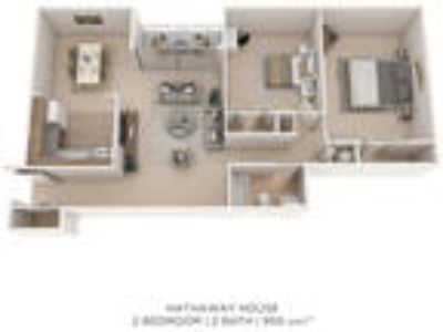 The Village of Chartleytowne Apartments & Townhomes - Two BR One BA