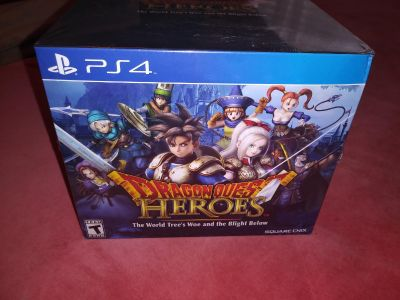 Dragon Quest Heroes Slime Limited Edition PS4