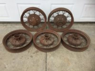 "Ford Model A 19"" Wire Wheels"