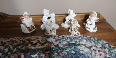 Christmas figurines all for 2.00