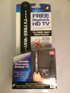 Portable Digital Antenna From TV Free-Way By BulbHead