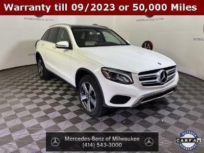 2019 Mercedes-Benz GLC (Polar White)