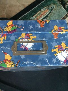 Pooh picture box