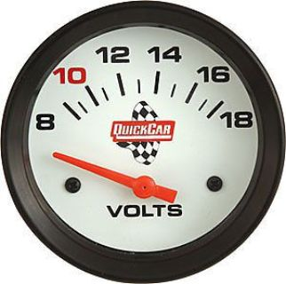 Sell QuickCar Racing 611-7007 Extreme Volt Meter Gauge8-18 Volts motorcycle in Delaware, Ohio, United States, for US $66.95