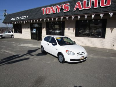 2007 Hyundai Accent GS (Nordic White)