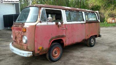"1974 Twin Turbo Bus ""The Rust Bus"""
