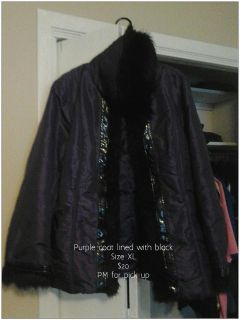 $20, PurpleBlack Coat