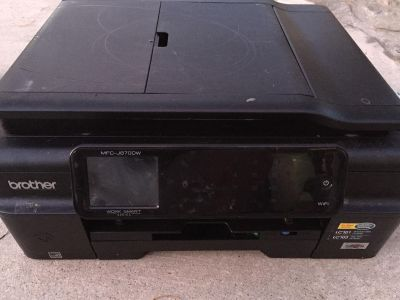 Brother all in one printer scanner copier fax