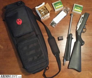 For Sale: Ruger 10/22 Takedown Stainless w/Bag and Extras