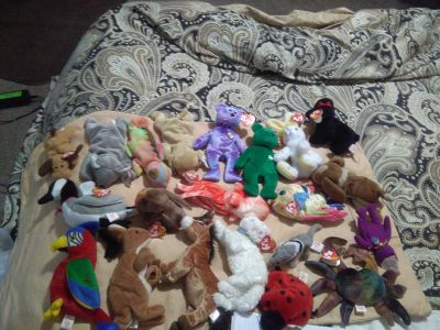 Beanie babie 1 of 2 SOME VERY RARE with errors