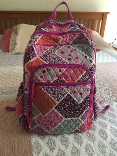 Vera Bradley backpack and lunch bag