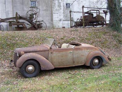 1936 Ford Custom Channeled Roadster