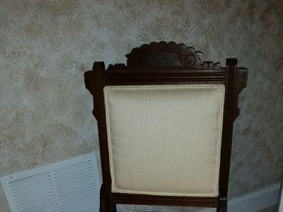 antique ladies chair