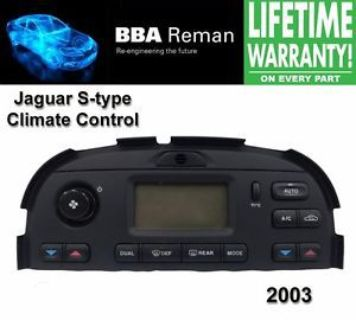 Buy 2003 Jaguar Climate Control Repair Service Heater AC Head s type s-type 03 stype motorcycle in Taunton, Massachusetts, United States